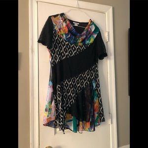 Fabulous, comfortable dress! Fun to wear!